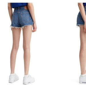 Levi's High Rise Denim Short